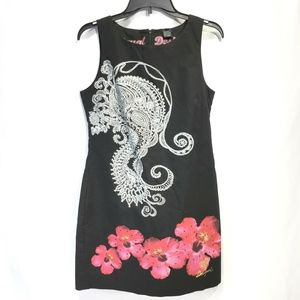 Desigual Sheath Sleeveless Dress Barcelona 10
